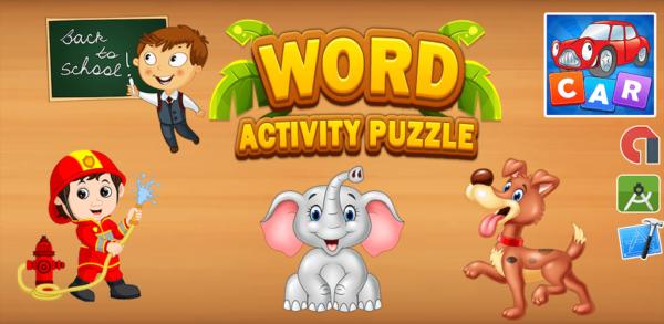 Word Activity Puzzle