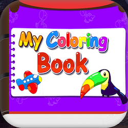 Coloring Book Game For Kids + Ready For Publish - My Coloring Book Game