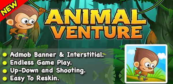 Endless Runner Animal Venture Game