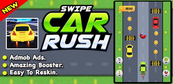 Swipe Car Rush Game